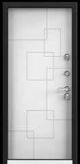 Дверь TOREX SNEGIR 20 RAL 8019 / Белый Белый