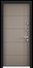 Дверь TOREX SNEGIR 20 RAL 8019 / Кофе с молоком ПВХ кофе с молоком