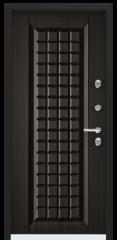 Дверь TOREX SNEGIR 45 RAL 8017 коричневый / Венге Конго ПВХ Конго Венге