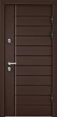Дверь TOREX SNEGIR 45 RAL 8017 коричневый / Венге ПВХ Венге