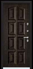 Дверь TOREX SNEGIR 45 RAL 8019 / Дуб мореный Дуб мореный