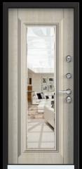 Дверь TOREX SNEGIR 45 RAL 9016 белый / Дуб бежевый Дуб бежевый
