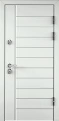 Дверь TOREX SNEGIR 45 RAL 9016 белый / Венге Конго ПВХ Конго Венге