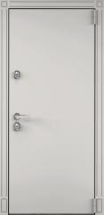 Дверь TOREX SNEGIR 55 Бьянко муар / Шамбори светлый ПВХ Бел шамбори
