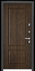 Дверь TOREX SNEGIR 55 Зеленый изумруд / Орех грецкий Орех грецкий