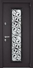 Дверь TOREX SNEGIR 55C-03 RAL 8019 / Шамбори светлый ПВХ Бел шамбори