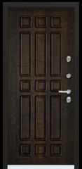 Дверь TOREX SNEGIR 60 RAL 8017 коричневый / Дуб мореный Дуб мореный