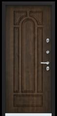 Дверь TOREX SNEGIR 60 RAL 8019 / Орех грецкий Орех грецкий