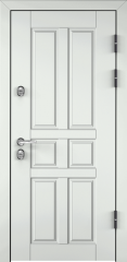 Дверь TOREX SNEGIR 60 RAL 9016 белый / Дуб бежевый Дуб бежевый