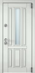 Дверь TOREX SNEGIR COTTAGE 01 RAL 9016 белый / RAL 9016 белый
