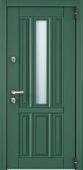 Дверь TOREX SNEGIR COTTAGE 01 Зеленый изумруд / Белый Белый
