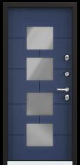 Дверь TOREX SNEGIR COTTAGE 05 Синий сапфир / Синий сапфир