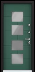 Дверь TOREX SNEGIR COTTAGE 05 Зеленый изумруд / Зеленый изумруд