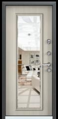 Дверь TOREX SUPER OMEGA 10 Черный шелк / Белый перламутр