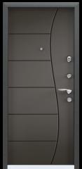 Дверь TOREX SUPER OMEGA 10 MAX Черный шелк / Молочный шоколад ПВХ молочный шоколад