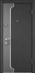 Дверь TOREX SUPER OMEGA 10 MAX Черный шелк / Слоновая кость ПВХ слоновая кость