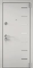 Дверь TOREX SUPER OMEGA 100 Бьянко муар / Шамбори светлый ПВХ Бел шамбори