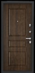Дверь TOREX SUPER OMEGA 100 Черный муар металлик / Орех грецкий Орех грецкий