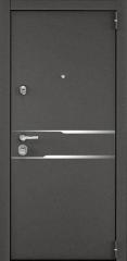 Дверь TOREX SUPER OMEGA 100 Колоре гриджио / ПВХ Венге темный горизонт