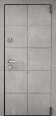 Дверь TOREX SUPER OMEGA 100 ПВХ Бетон серый / ПВХ Бетон серый