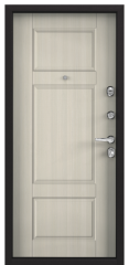 Дверь TOREX SUPER OMEGA 100 RAL 8019 / Белый перламутр