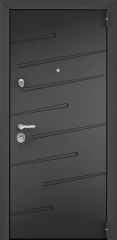 Дверь TOREX SUPER OMEGA 100 СТ Графит матовый / СТ Графит матовый