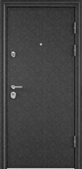 Дверь TOREX ULTIMATUM Черный шелк / Шамбори светлый ПВХ Бел шамбори
