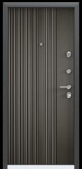 Дверь TOREX ULTIMATUM-M Черный шелк / Молочный шоколад ПВХ молочный шоколад