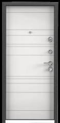 Дверь TOREX ULTIMATUM-M Темный-пепел ПВХ Темный-пепел / Белый Белый