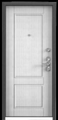 Дверь TOREX ULTIMATUM NEXT ПВХ Скол дуба черный / ПВХ Скол дуба белый