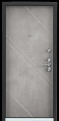Дверь TOREX ULTIMATUM NEXT ПВХ Венге темный горизонт / ПВХ Бетон серый