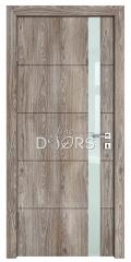 Дверь межкомнатная TL-DO-507 Кипарис/стекло Белое