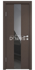 ШИ дверь DO-610 Бронза/стекло Черное