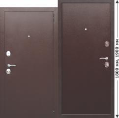 Нестандартная входная металлическая дверь Ferroni GARDA mini Металл/Металл
