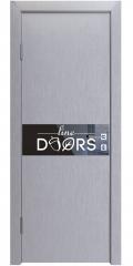 ШИ дверь DO-609 Металлик/стекло Черное