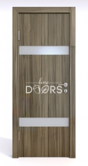 ШИ дверь DO-602 Сосна глянец/Снег
