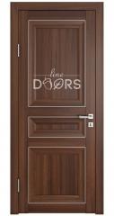 Дверь межкомнатная DG-PG3 Орех тисненый