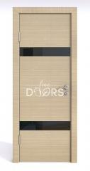 ШИ дверь DO-602 Неаполь/стекло Черное