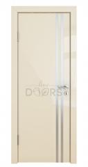 Дверь межкомнатная DG-506 Ваниль глянец