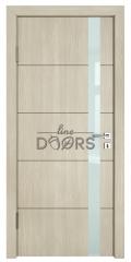 Дверь межкомнатная TL-DO-507 Клен/стекло Белое