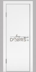 ШИ дверь DG-600 Белый бархат