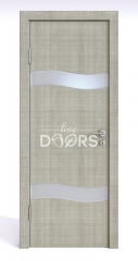 Дверь межкомнатная DO-503 Серый дуб/Снег