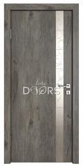 Дверь межкомнатная TL-DO-507 Серый кедр/Смола металлик