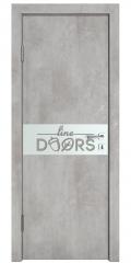 Дверь межкомнатная DO-509 Бетон светлый/Снег