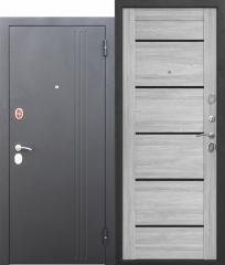 Входная дверь Ferroni 7,5 см НЬЮ-ЙОРК Царга Ривьера пепельная
