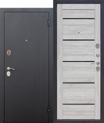 Входная дверь Ferroni 7,5 см НЬЮ-ЙОРК Царга Дуб санремо светлый