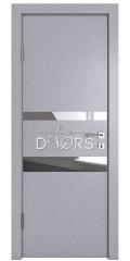 Дверь межкомнатная DO-512 Металлик/Зеркало