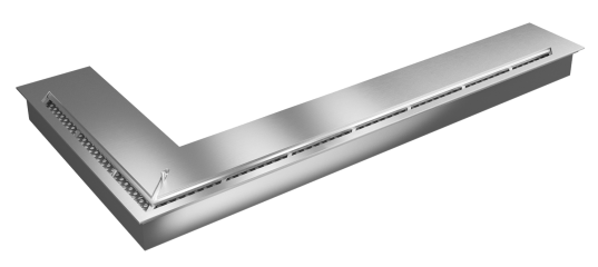 Прямоугольный контейнер ZeFire угловой 1200