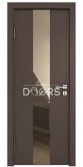 Дверь межкомнатная DO-510 Бронза/зеркало Бронза