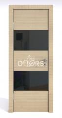 ШИ дверь DO-608 Неаполь/стекло Черное